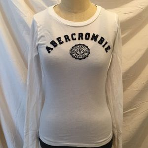 Abercrombie & Fitch Long Sleeve Crew Neck